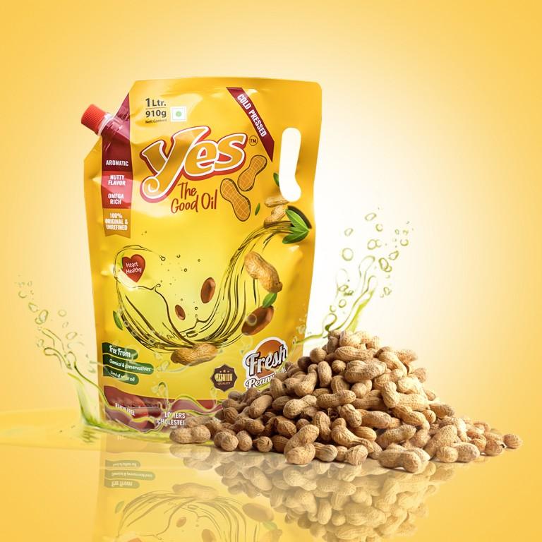 Cold Pressed Peanut Oil